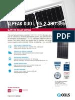 Q-cell 380-395 Wp Solar Panel