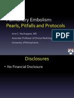 Pulm Embolism Pearls Pitfalls Protocols 1