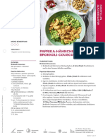 Paprika Haehnchen Mit Brokkoli Couscous