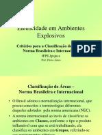 002 Classificação de áreas - Norma brasileira.ppt