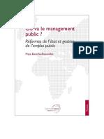 Reformes de Letat Et Gestion de Lemploi Public