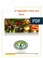 Breeding of Vegetable Tuber and Spice Crops