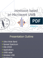 Ultra Wide Band (UWB) Spread Spectrum