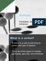 Verbals Powerpoint