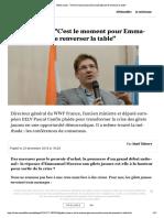 """Gilets Jaunes - """"C'Est Le Moment Pour Emmanuel Macron de Renverser La Table"""""""