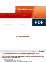 WDT Installation Use Guide for Subcon for KTK V1.0 3092015