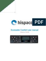 MH-083 Ecomaster Comfort User Manual