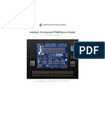 Adafruit servo shield datasheet