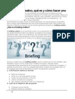 El Briefing creativo, qué es y cómo hacer uno