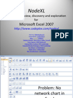 2009 - NodeXL - Overview