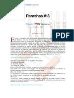 Parashat Shemot # 13 Jov 6018