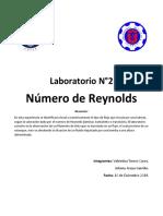 N°Reynolds