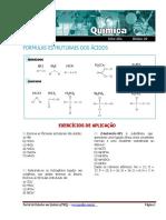 Fórmulas Estruturais Dos Ácidos
