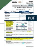 Evaluacion y Control de Proyectos