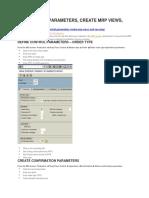 Set Control Parameters Mrp