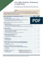 Isba Checklist