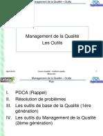 Management hgyh de La Qualité - Outils I Et II - RM (2)