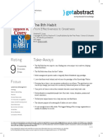 The 8th Habit Covey en 4481 DC