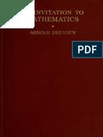 An invitation to mathematics (1882)