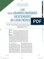 Dossier Luxe Stratégies 1/3
