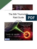 Sith Raid - Teams and Strats