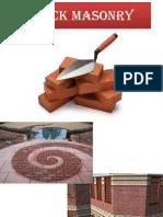 3. Brick Masonry