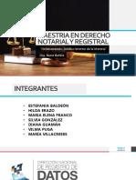 Maestria en Derecho Notarial y Registral