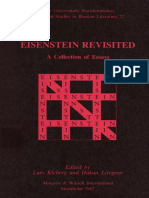 Kleberg Lovgren Eds Eisenstein Revisited a Collection of Essays