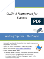 2016 CUSP a Framework for Success