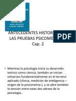 Linea Del Tiempo de La Historia de La Psicometria