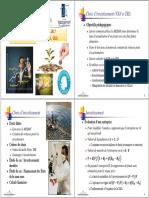 Cours M1 Finance 2015-2016 (7) Séance Du 13 Novembre 2015 Choix d'Investissement (VAN Et TRI)