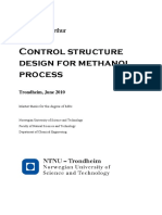 Control Structure Design for Methanol Process.pdf