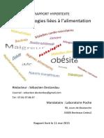 Rapport Hypertexte Les Pathologies Liees a l Alimentation