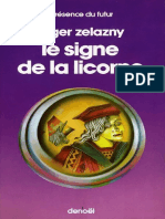 Zelazny,Roger-[Princes d'Ambre-03]Le Signe de La Licorne(1978).French.ebook.alexandriZ