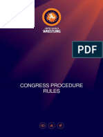 Reglement Procedure Congress Eng