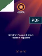Disciplinary Regulations Aug 2018 Final Eng