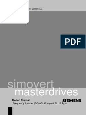 DRV MasterDrives Compact PLUS Inverters | Electrostatic
