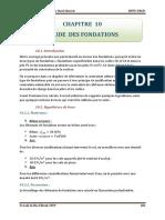 10-Etude Des Fondations