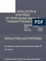 Ofdm (Main Project ) VHDL SIMULATION & SYNTHESIS