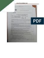 Examen de Fin de Formation Ts Esa 2014 Theorique
