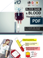 Blood Bank and Blood Transfusion