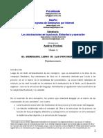 Andrea Perdoni - Las Alucinaciones en La Psicosis (Clase 4)