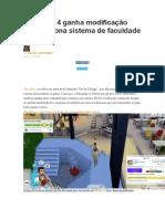 Sims 4 Faculdade