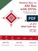 Kristen Brustad, Mahmoud Al-Batal, Abbas Al-Tonsi-Answer Key To Alif Baa_ Introduction To Arabic Letters and Sounds-Georgetown University Press (2004).pdf