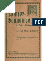 Wintersonnenwende Julfest Weihenachten