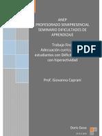 Trabajo Final _Adecuación Curricular para estudiantes con Déficit Atencional con Hiperactividad