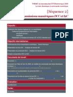 Sequence 2 Etude Des Transmissions Numeriques DCC Et I2C