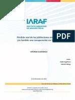 Movilidad Jubilatoria  - IARAF