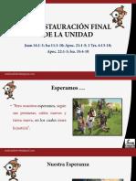 La Restauraion Final