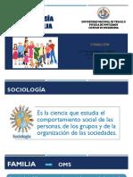La Sociología en La Familia